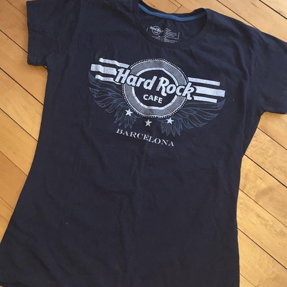 641bf1e1e Hard Rock Cafe Tops - 4/$20 ⭐ Hard Rock Cafe Barcelona Wings Shirt